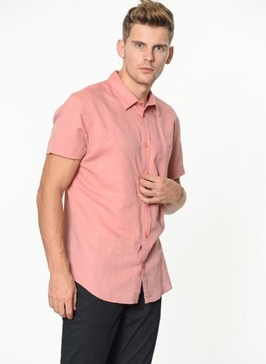 Wrangler Kısa Kollu Gömlek Pembe